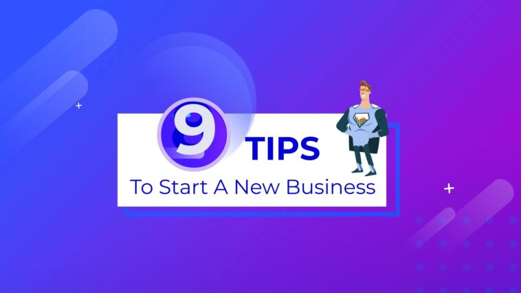 tips to start a new business