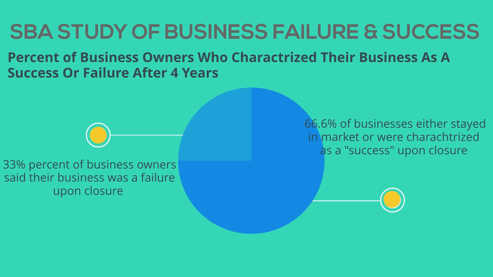 rate of success in small businesses