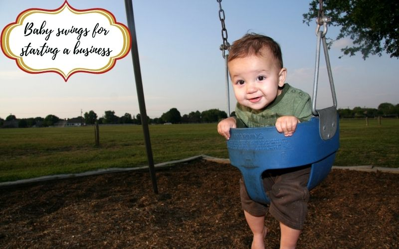 Baby swings to start a business