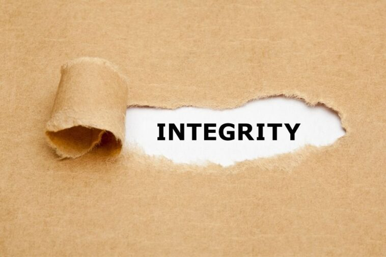 success without integrity is failure