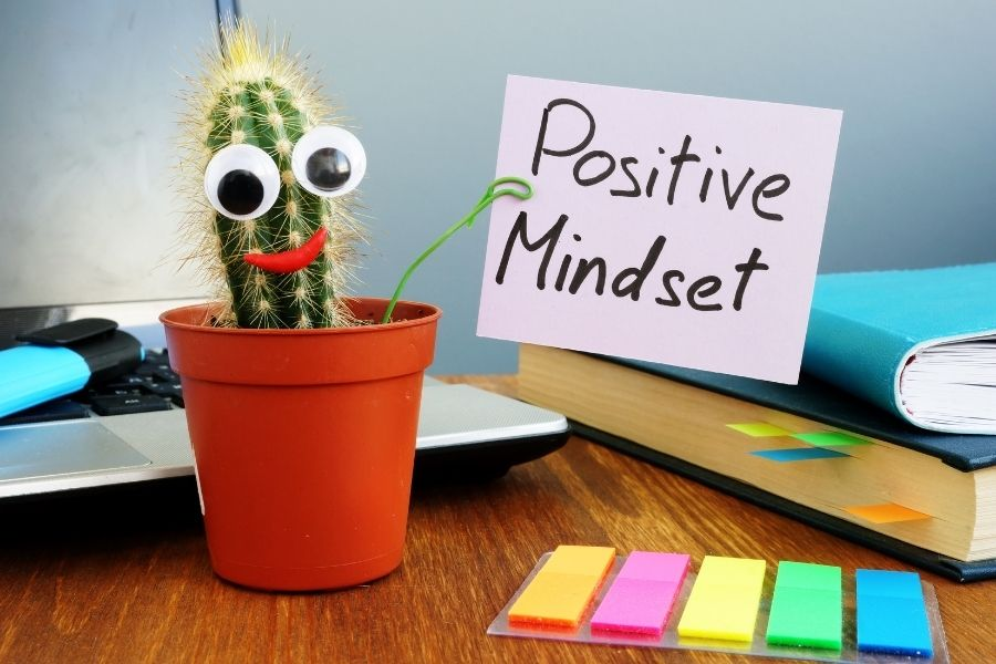 develop a positive mindset