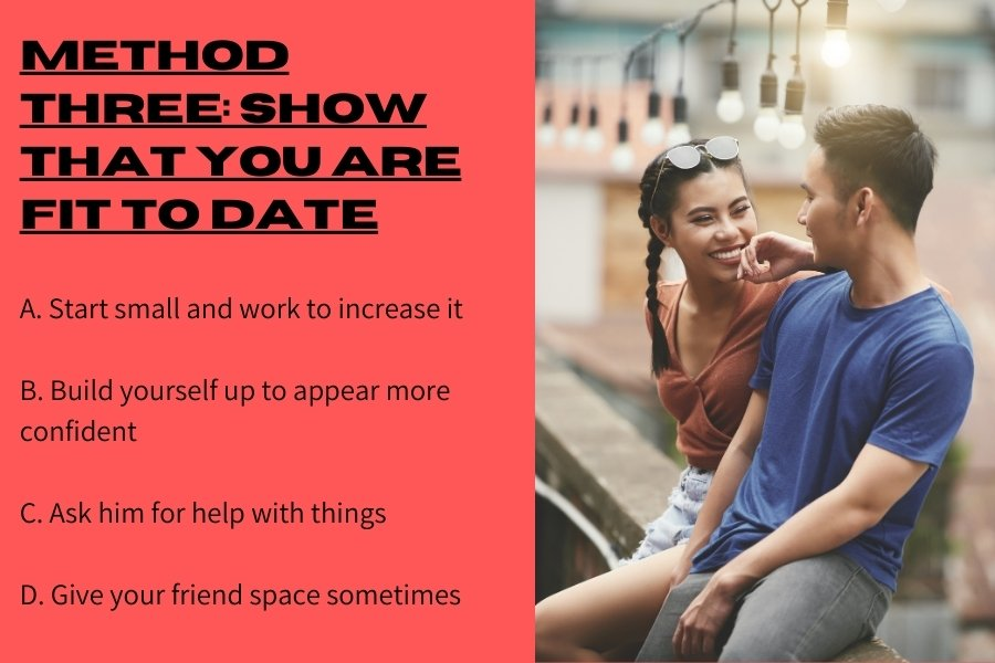 Method three: Show that you are fit to date