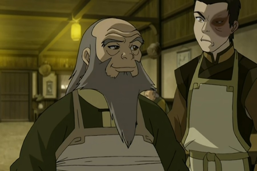 Uncle Iroh and Zucko