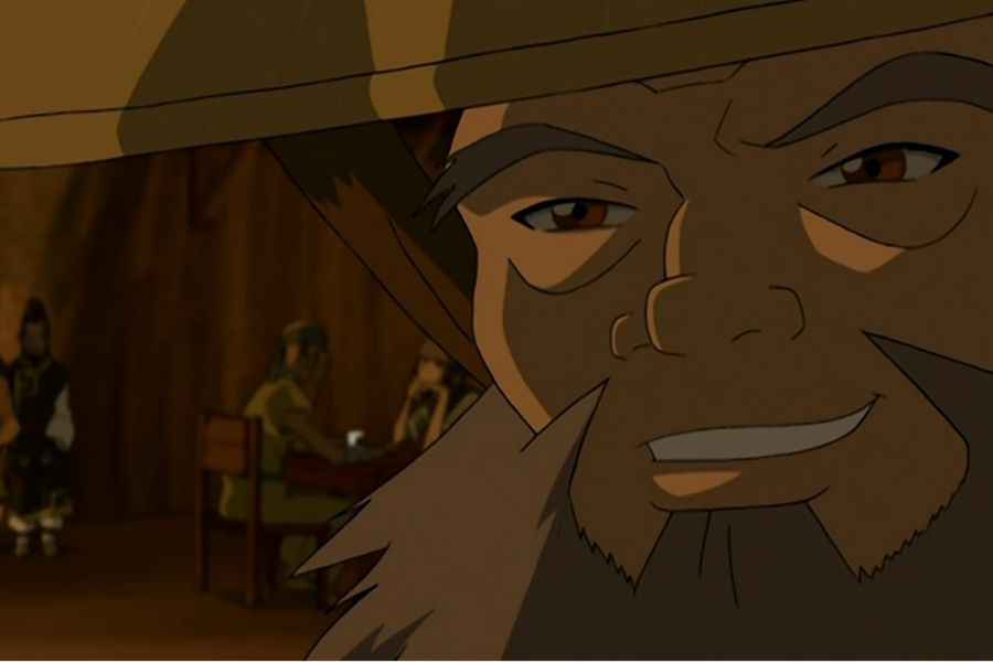 Uncle Iroh talks about dark tunnel