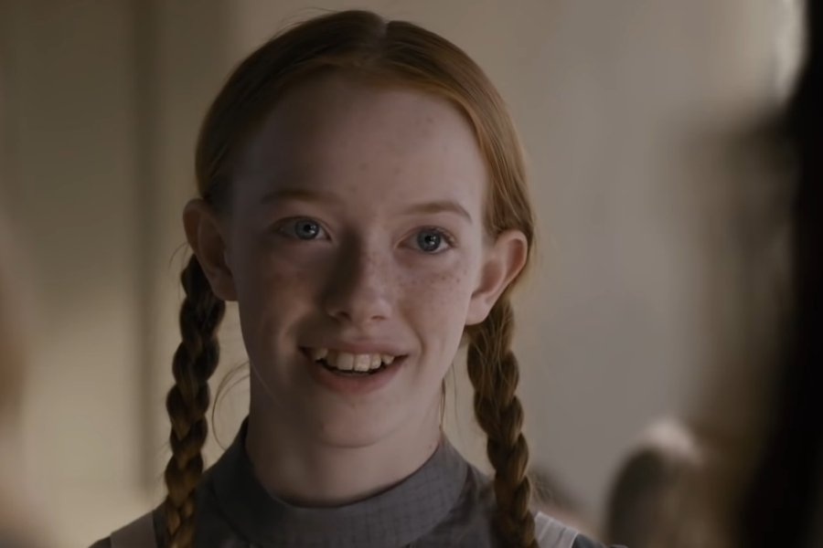 Anne Shirley from anne of green gables