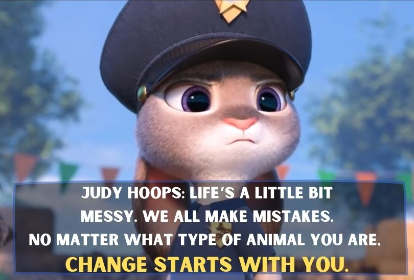Judy talks about the change