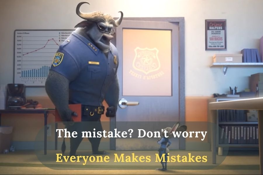 Judy and Chief Bogo are talking about mission