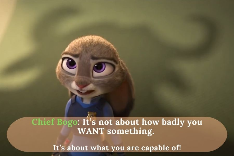 Chief Bogo talks about being capable