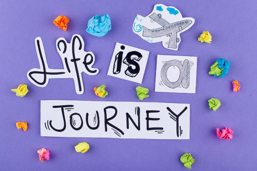life is a journey with